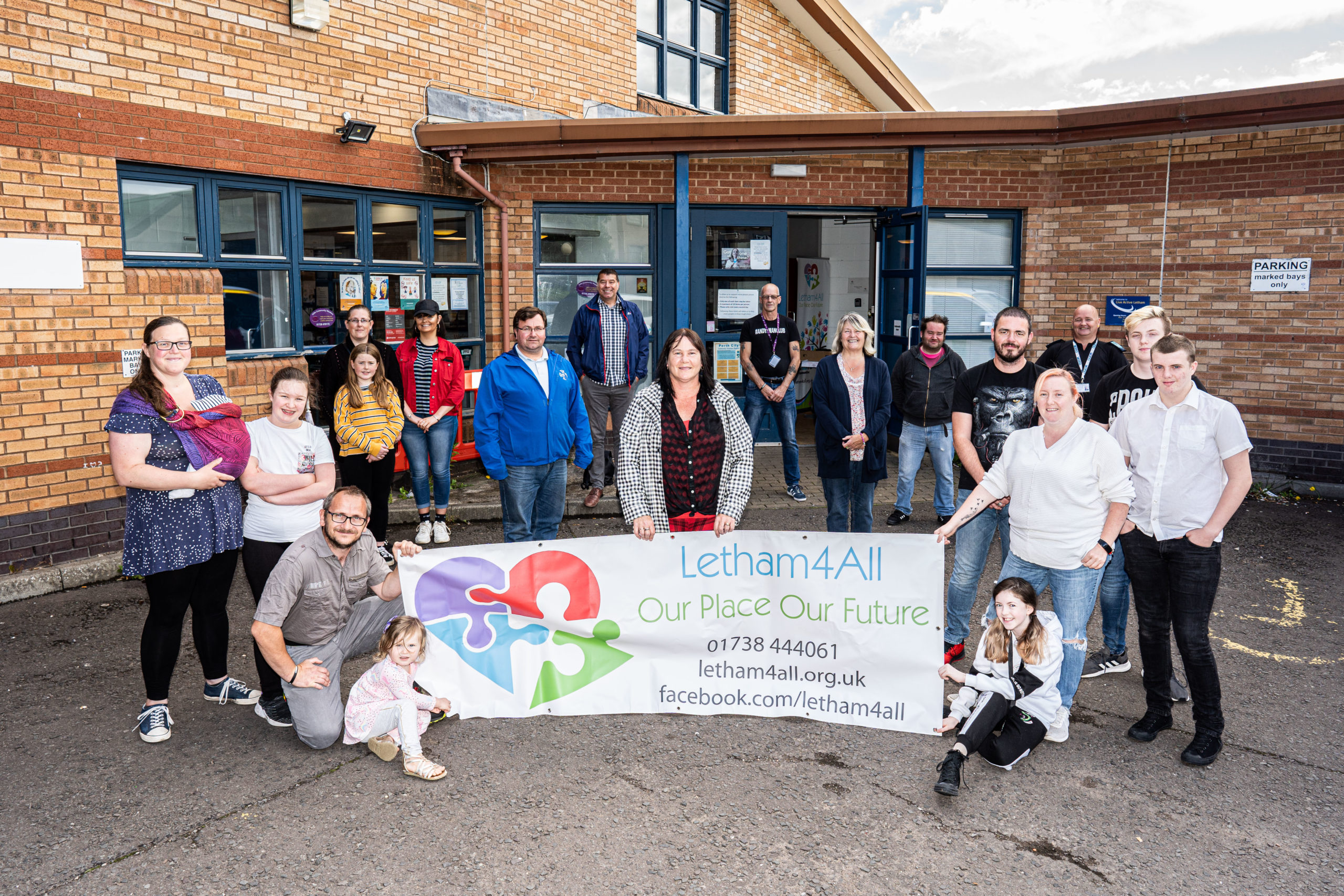Massive National Lottery Boost for Letham